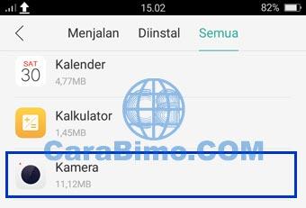 Cari aplikasi Kamera