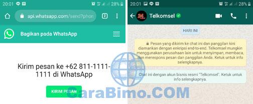 Cara Isi Pulsa Lewat Veronika Telkomsel Di WhatsApp