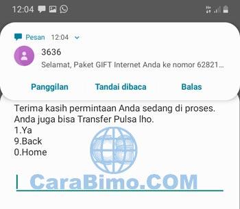 Cara Transfer Kuota Telkomsel Nomor Lain