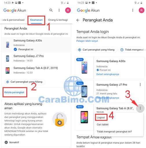 Cara Logout Dari Gmail Di Perangkat Lain