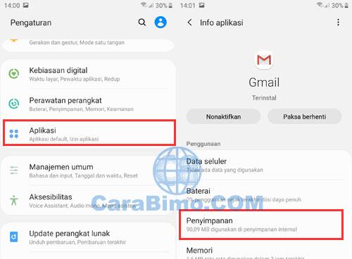 Cara Logout Dari Gmail Di Android Lewat Menu Pengaturan