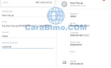 Cara Top Up DANA Lewat Mandiri Online dan ATM