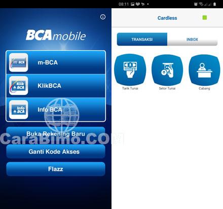 Fitur BCA Mobile