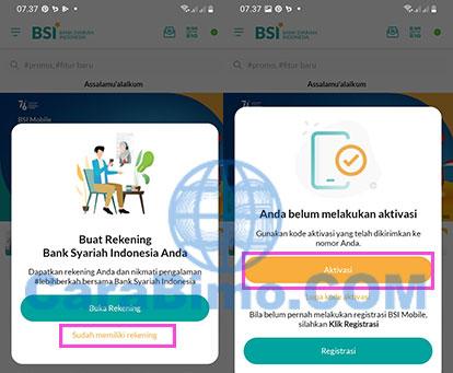 Cara Aktivasi BSI Mobile Nasabah EX-BNIS