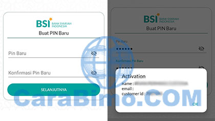 Buat PIN Baru Bank Syariah Indonesia