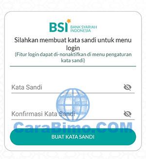 Kata Sandi BSI Mobile