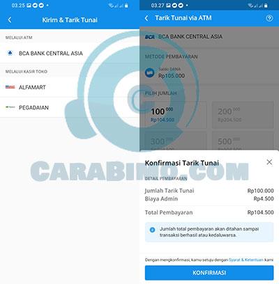Cara Tarik Saldo DANA di ATM BCA Tanpa Kartu ATM Terbaru
